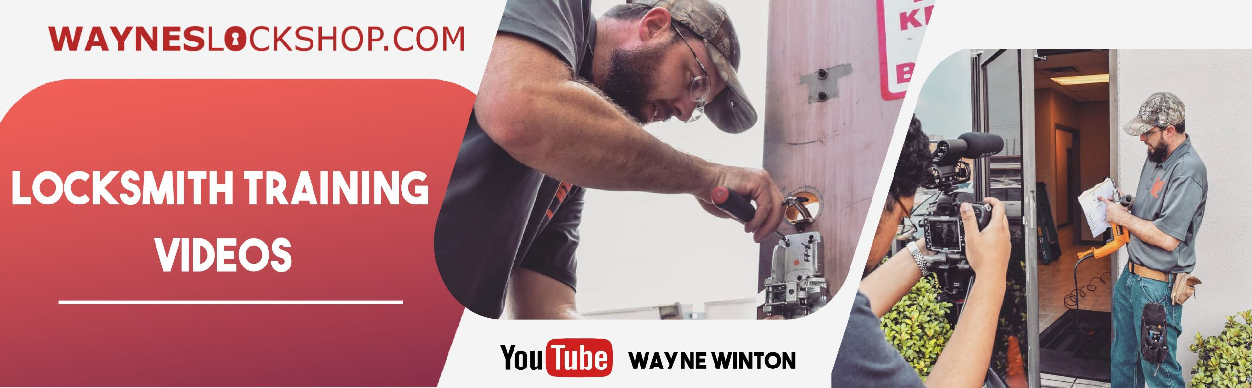 Locksmith Training Video Website
